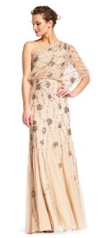 Beaded trumpet gown by Adrianna Papell