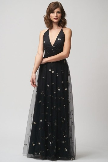 Chelsea dress in starry night embroidered tulle by Jenny Yoo