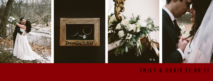 Emily & Chris Blog Header