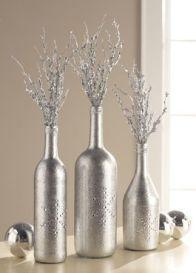 SIlver & Chrome Bottles
