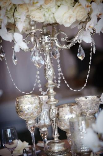 Silver & Chrome Goblets