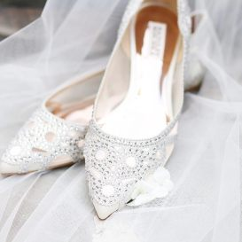 Silver & Chrome shoes