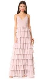 Tiered dress by Monique Lhuillier Bridesmaids