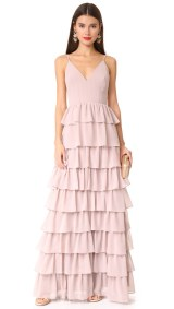 Tiered dress by Monique Lhuillier Bridesmaids