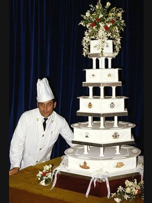 Traditional Five-Tiered Fruit Cake