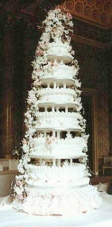 Marzipan and Rum-Soaked Wedding Cake