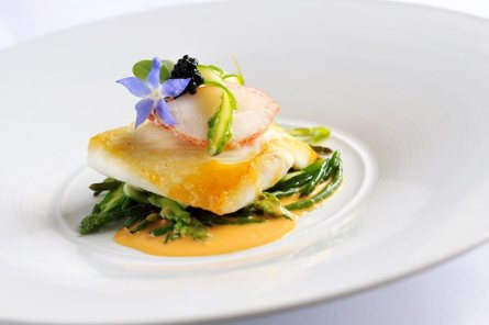 Brill in Lobster Sauce