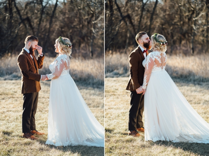 The Haight Wedding First Look