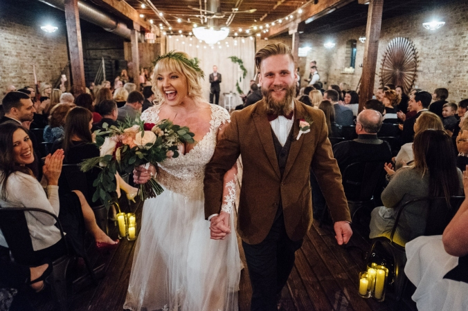 The Haight Wedding ceremony